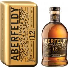 Виски ABERFELDY Шотландский односолодовый 12 лет, 40%, п/у, 0.7л, Великобритания, 0.7 L