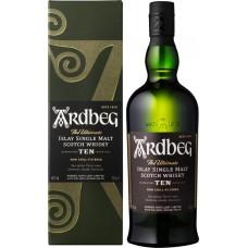 Виски ARDBEG Шотландский односолодовый 10 лет, 46%, п/у, 0.7л, Великобритания, 0.7 L