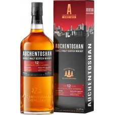 Виски AUCHENTOSHAN 12 лет, 40%, 0.7л, Великобритания, 0.7 L
