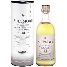 Виски AULTMORE Шотландский односолодовый 12 лет, 46%, п/у, 0.7л, Великобритания, 0.7 L